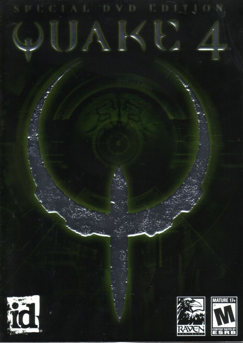Quake 4: Special DVD Edition Windows Front Cover