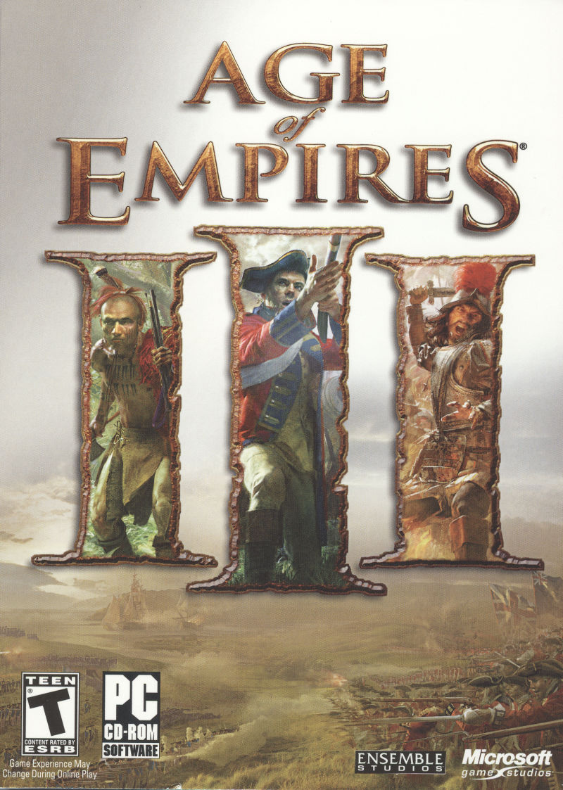 Age of Empires III Windows Front Cover