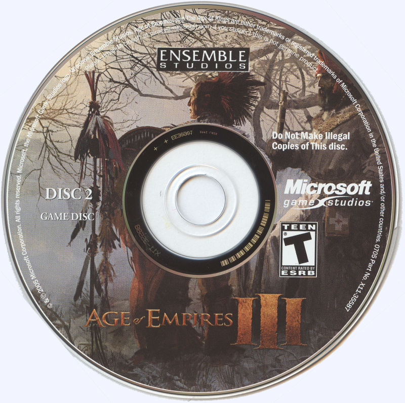 Age of Empires III Windows Media Disc 2