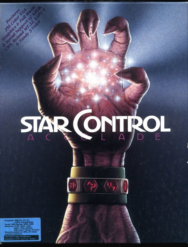 Star Control DOS Front Cover
