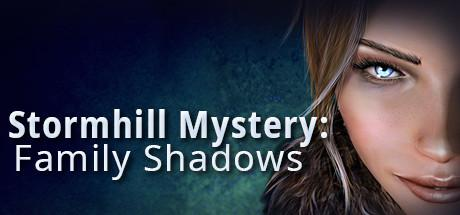Stormhill Mystery: Family Shadows Macintosh Front Cover