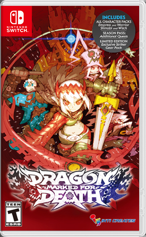 обложка 90x90 Dragon Marked for Death: Frontline Fighters