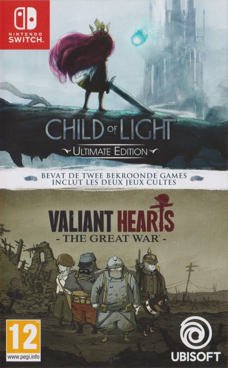 Child of Light: Ultimate Edition + Valiant Hearts: The Great War