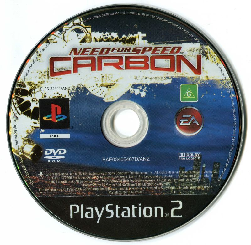 Need For Speed Carbon 2006 Playstation 2 Box Cover Art Mobygames