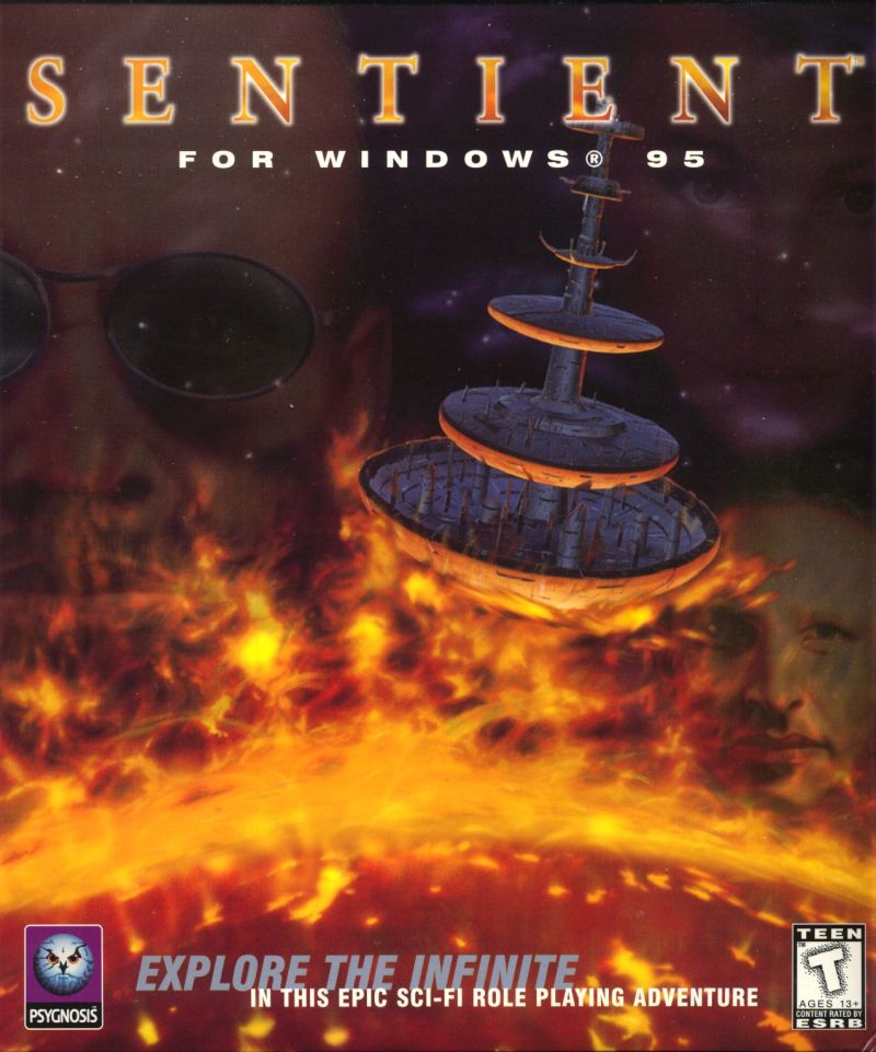 Sentient Windows Front Cover