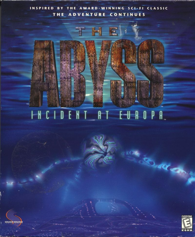 The Abyss: Incident at Europa Windows Front Cover