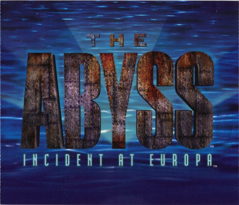 The Abyss: Incident at Europa Windows Other Jewel Case - Inside Right