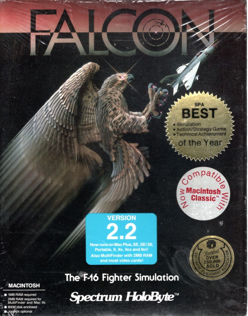Falcon Macintosh Front Cover
