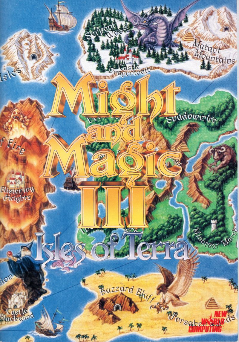 Image result for might & magic game manual