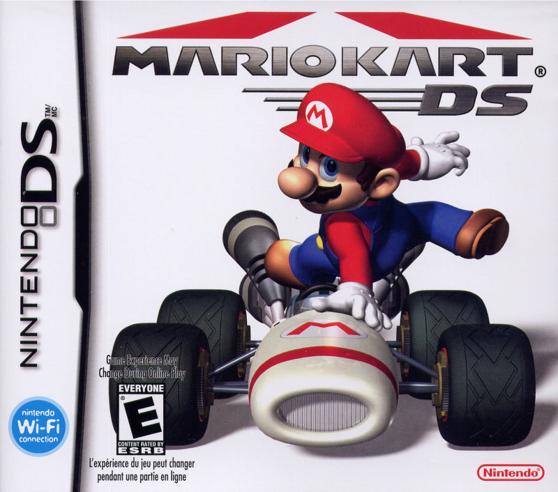 Mario Kart DS Nintendo DS Front Cover