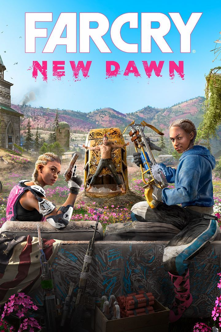 Far Cry: New Dawn Xbox One Front Cover