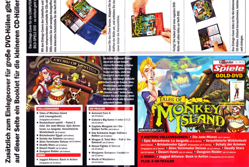 Tales of Monkey Island (2009) Windows box cover art - MobyGames