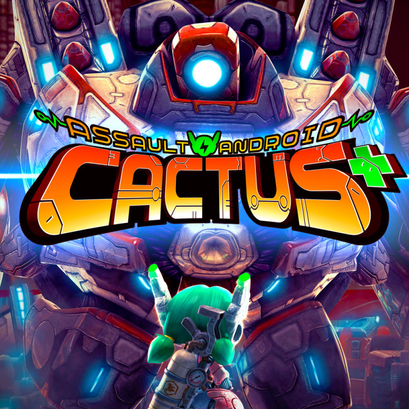 Assault Android Cactus Nintendo Switch Front Cover