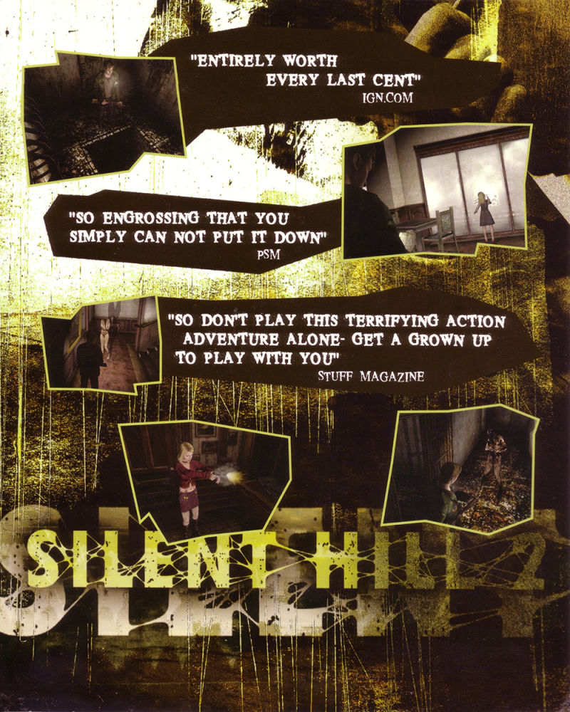 Silent Hill 2: Restless Dreams Windows Inside Cover Front flap left