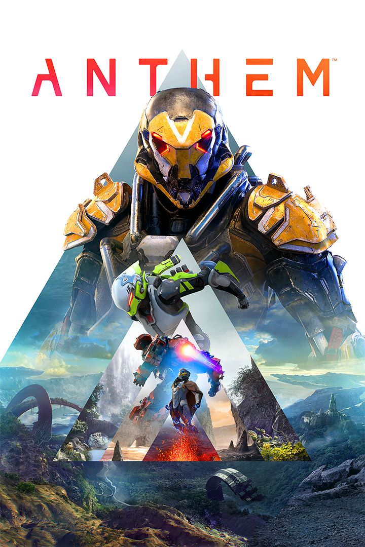 Anthem Xbox One Front Cover