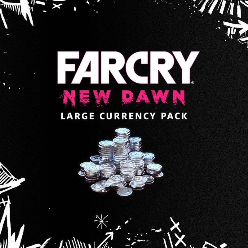 Far Cry: New Dawn - Large Currency Pack PlayStation 4 Front Cover