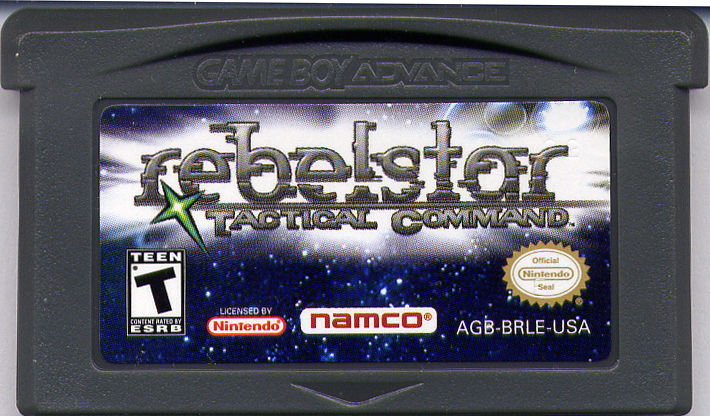 Rebelstar: Tactical Command Game Boy Advance Media