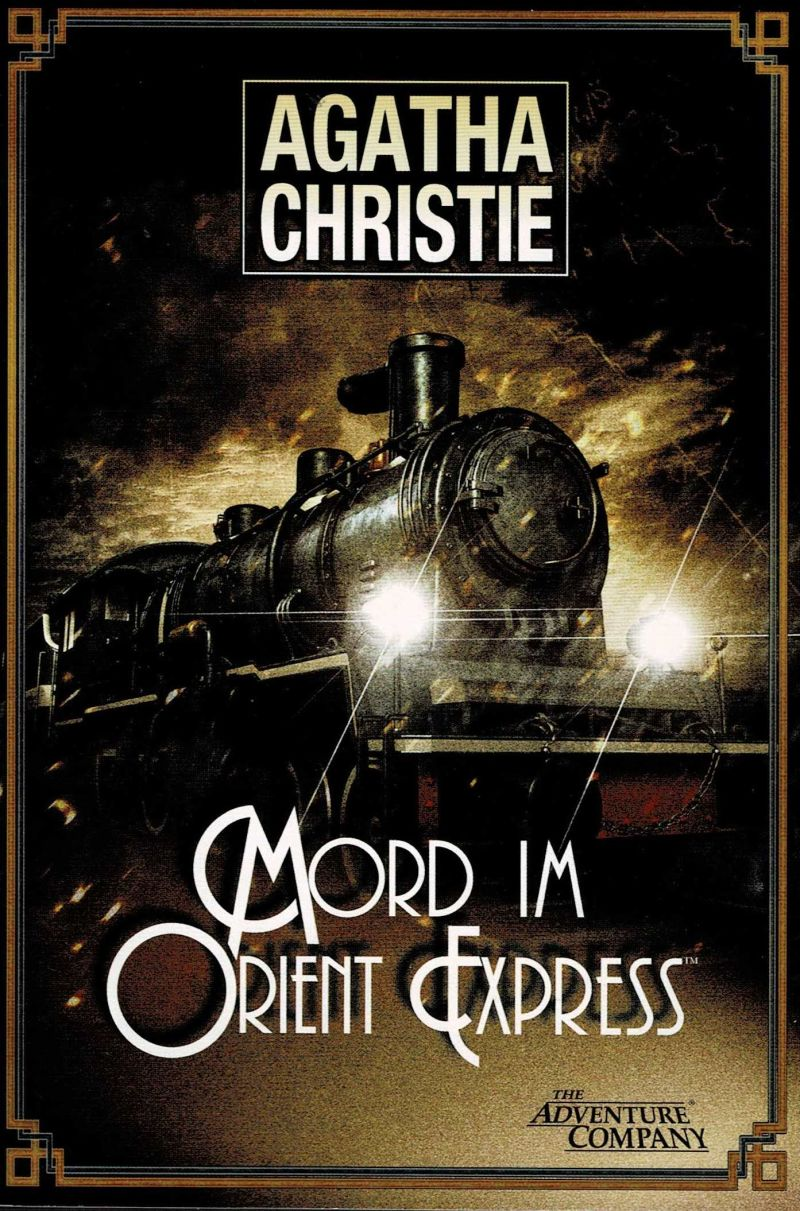 Agatha Christie: Murder on the Orient Express Windows Manual Front