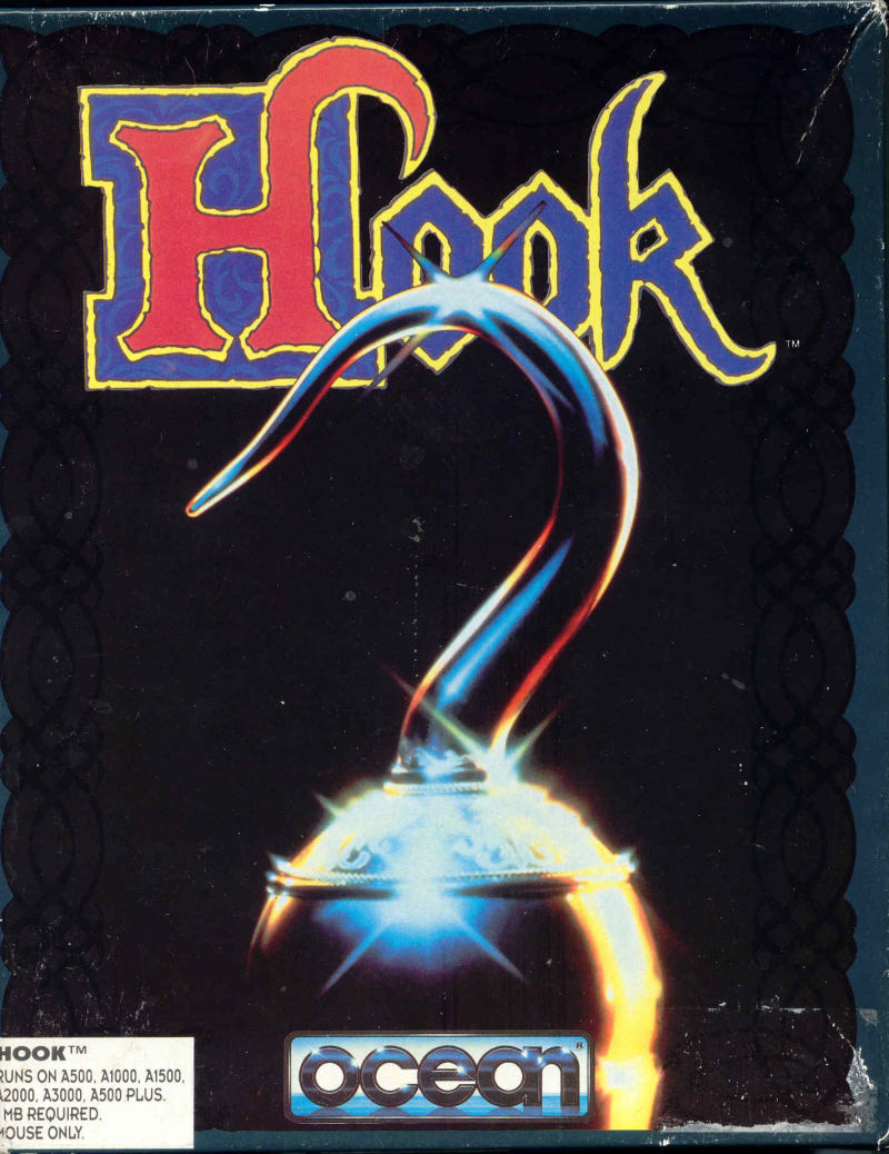 Hook Amiga Front Cover