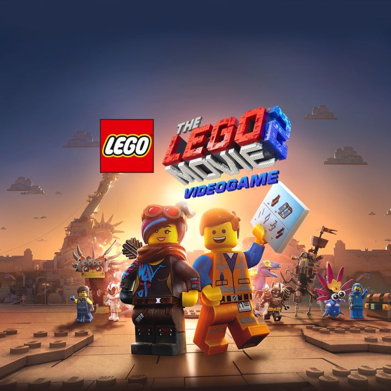 The LEGO Movie 2 Videogame PlayStation 4 Front Cover