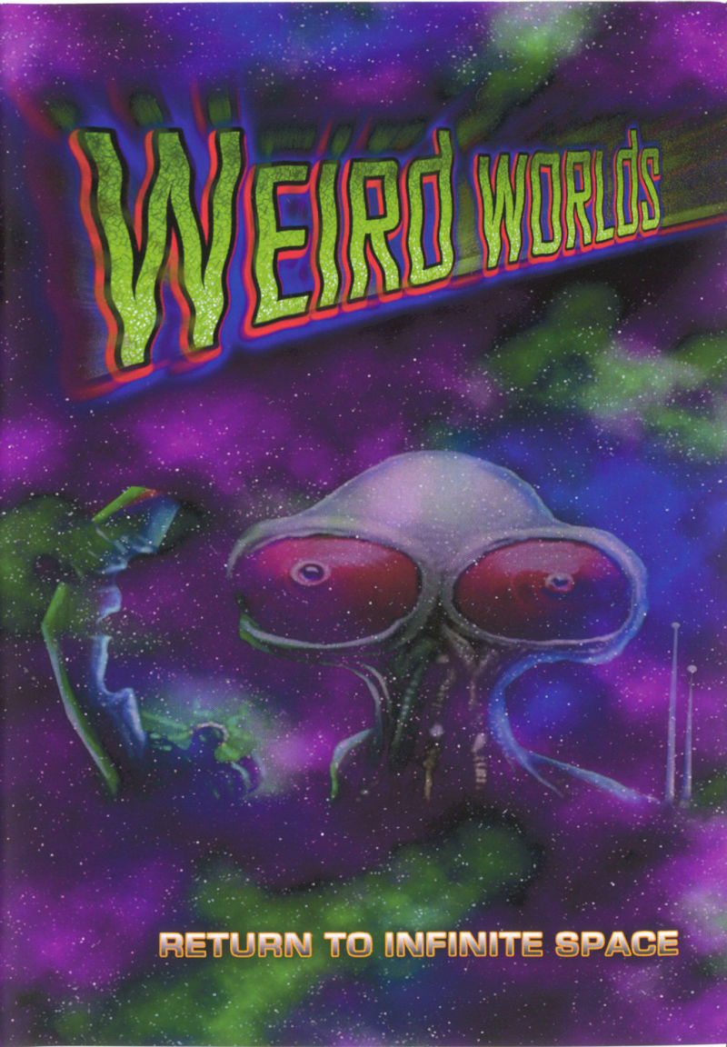Weird Worlds: Return to Infinite Space Windows Front Cover