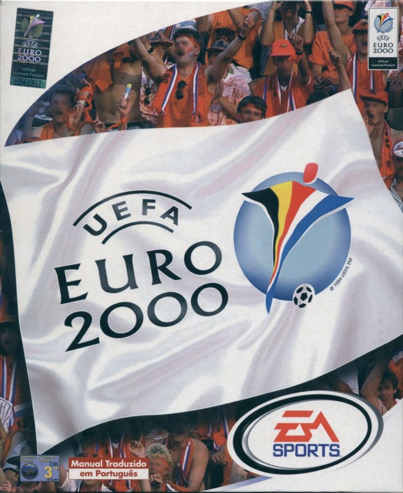 UEFA Euro 2000 Windows Front Cover