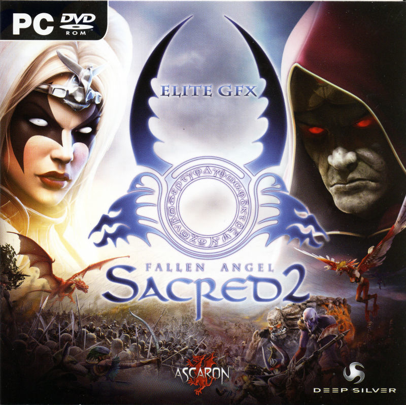 Sacred 2: Fallen Angel (Collector's Edition) Windows Extras Elite GFX Sleeve - Front