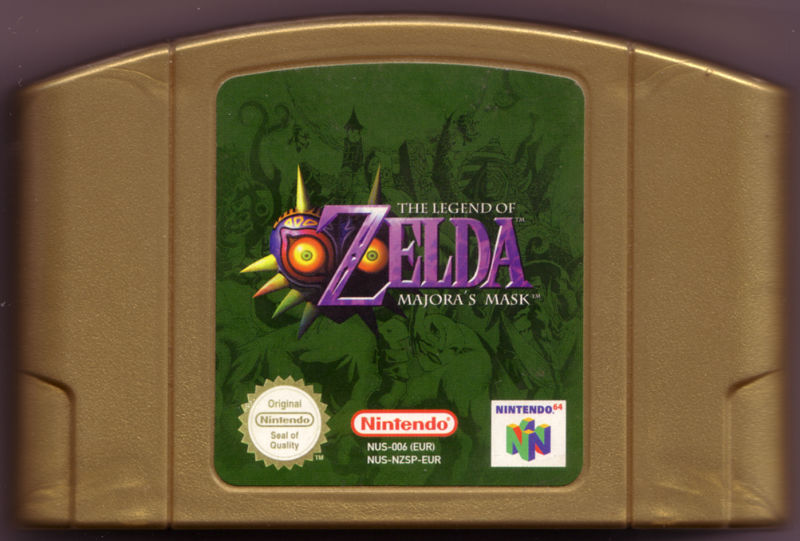 The Legend of Zelda: Majora's Mask Nintendo 64 Media