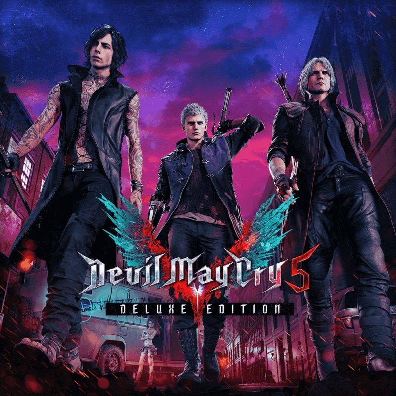 Devil May Cry 5: Devil May Cry 5: Deluxe Edition For PlayStation 4 (2019