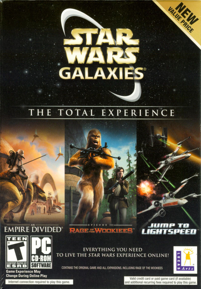 Star Wars: Galaxies - The Total Experience Windows Front Cover