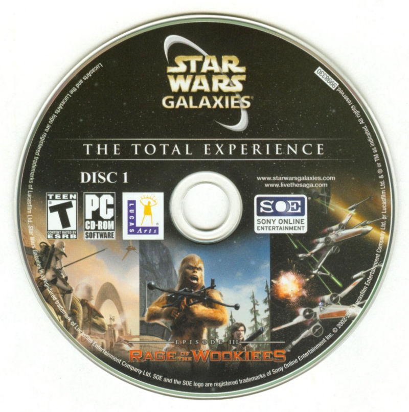 Star Wars: Galaxies - The Total Experience Windows Media Disc 1/5