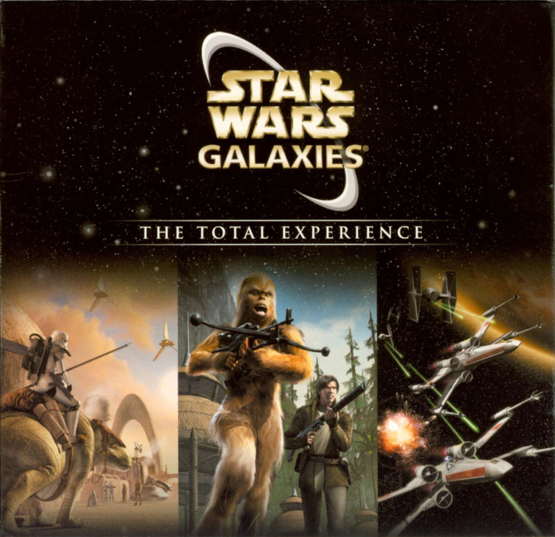 Star Wars: Galaxies - The Total Experience Windows Other Sleeve Holder - Front