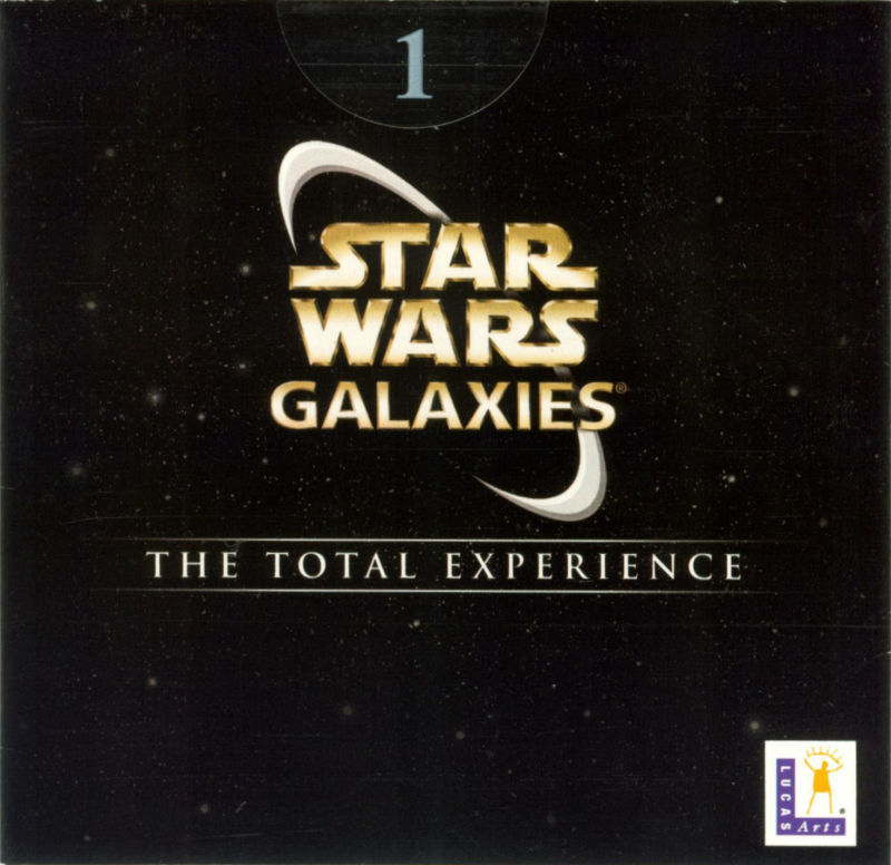 Star Wars: Galaxies - The Total Experience Windows Other Sleeve - Front 1/5
