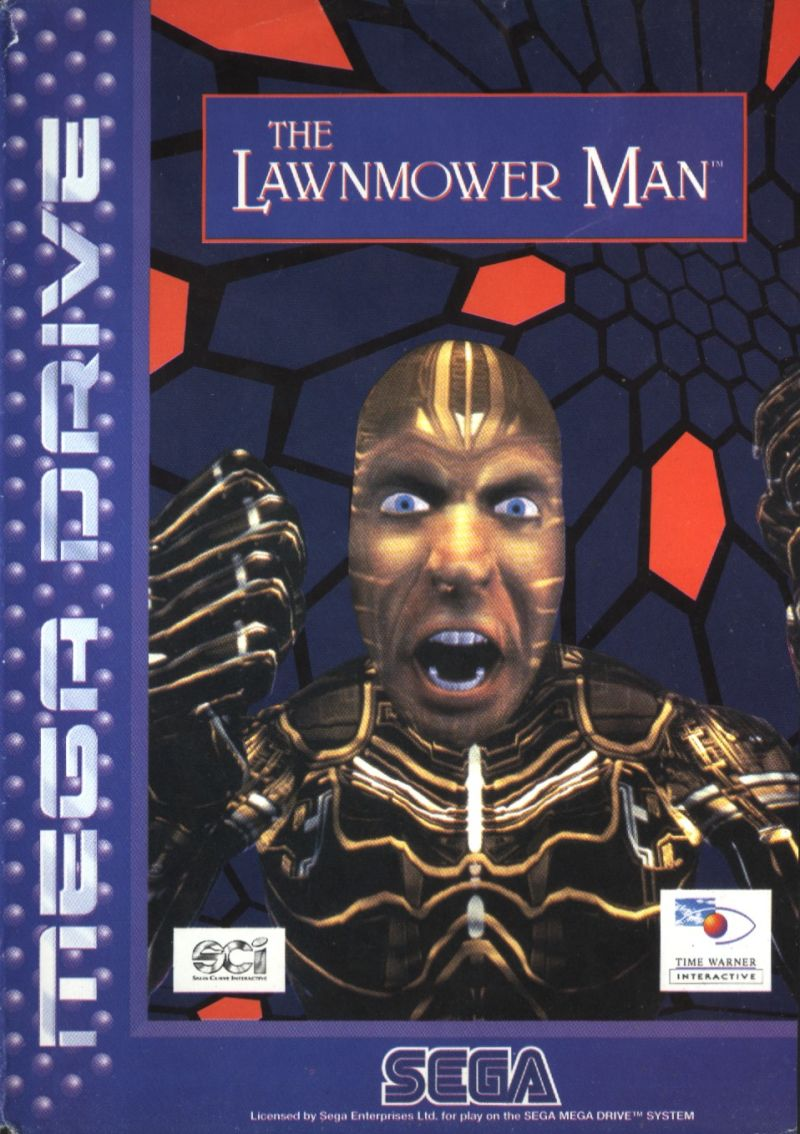 The Lawnmower Man Genesis Front Cover