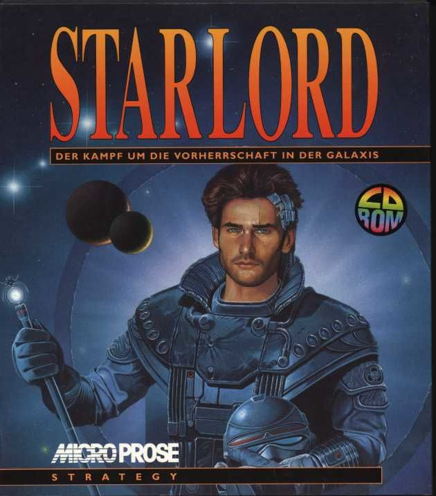Starlord DOS Front Cover