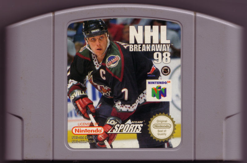 NHL Breakaway 98 Nintendo 64 Media