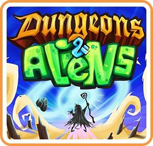 Dungeons & Aliens Nintendo Switch Front Cover