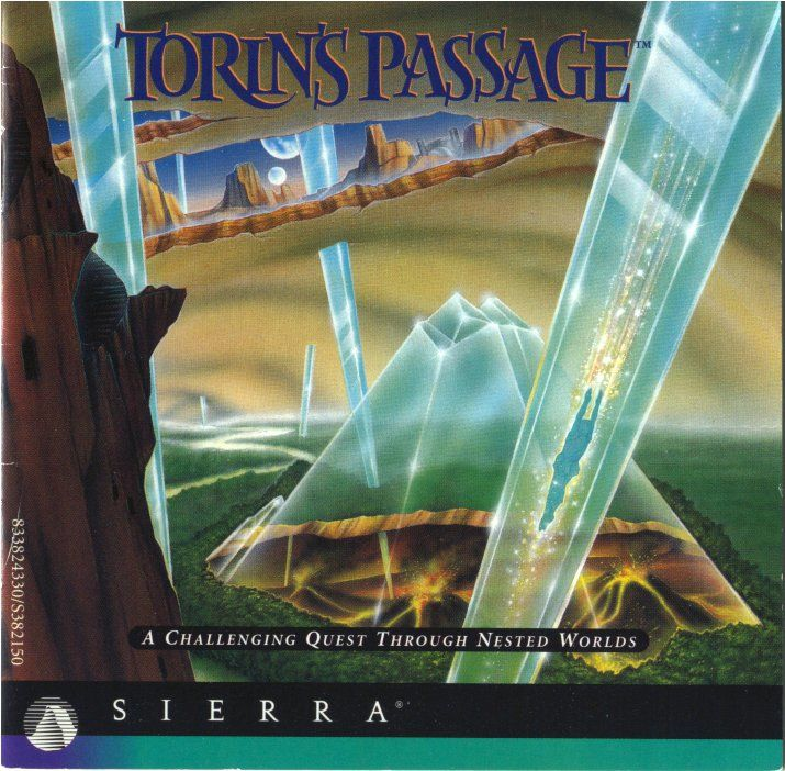 Torin's Passage DOS Other Jewel Case - Front