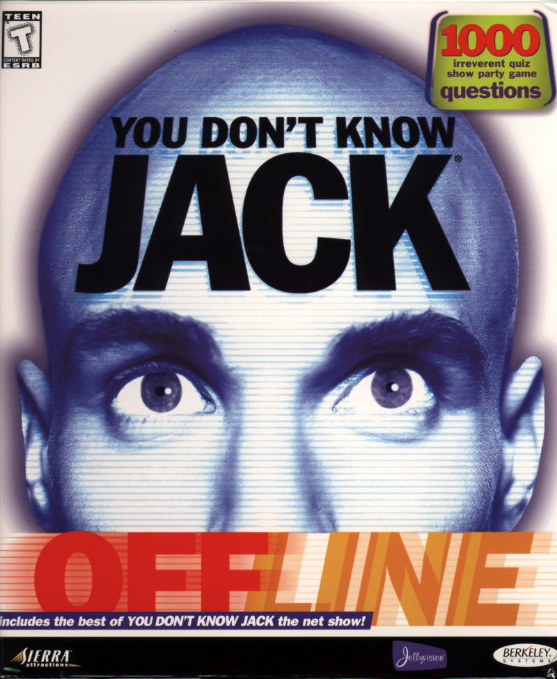 You Don't Know Jack: Offline Windows Front Cover