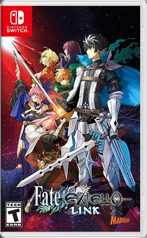 Fate/EXTELLA: LINK Nintendo Switch Front Cover