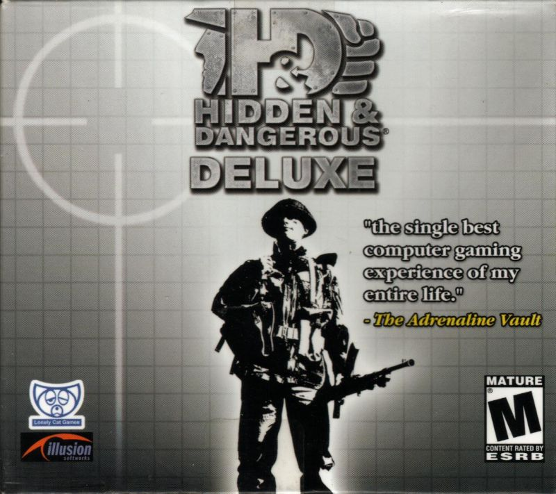 Hidden & Dangerous Deluxe Windows Front Cover