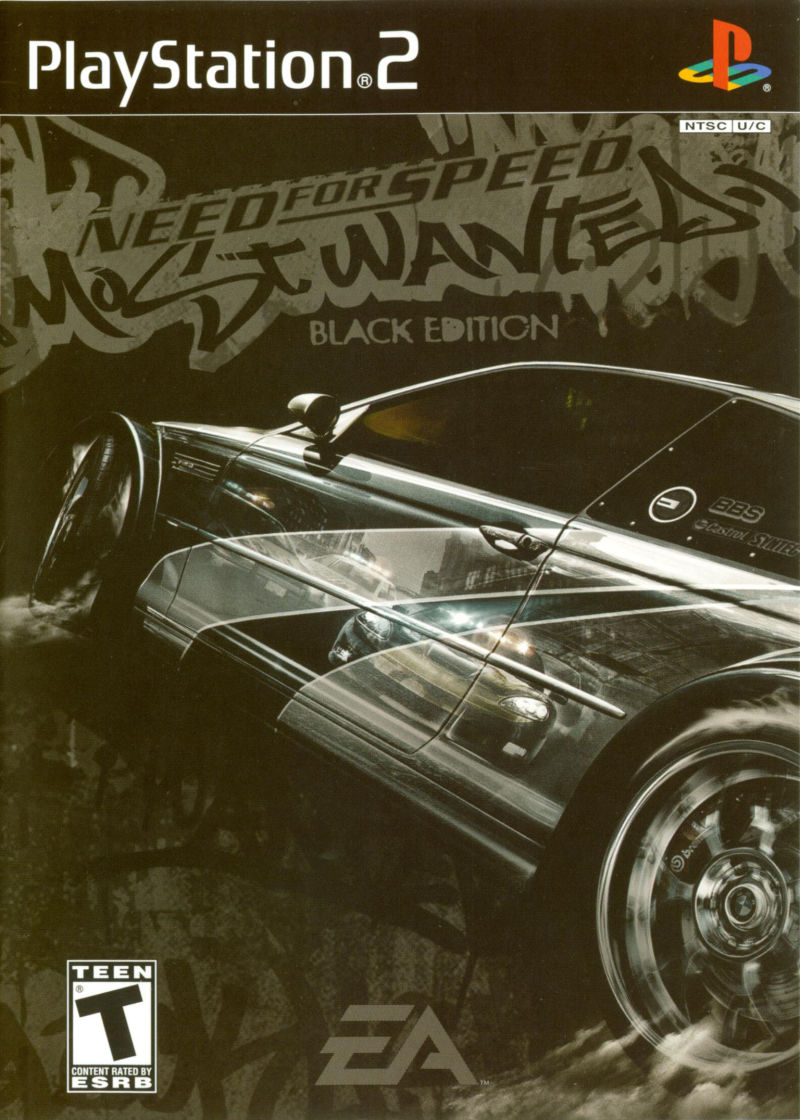 Need for Speed: Most Wanted (Black Edition) PlayStation 2 Other Keep Case - Front