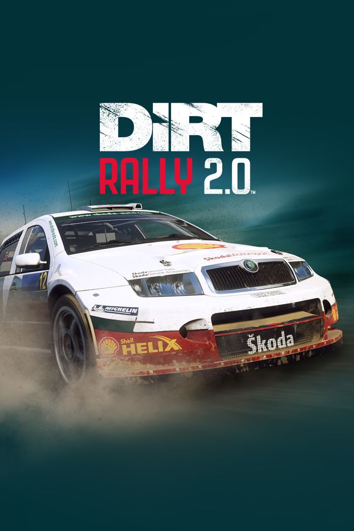 dirt rally 2 0 koda fabia rally for xbox one 2019. Black Bedroom Furniture Sets. Home Design Ideas