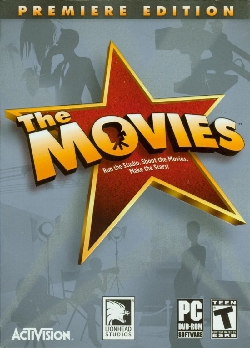 The Movies (Premiere Edition) Windows Front Cover