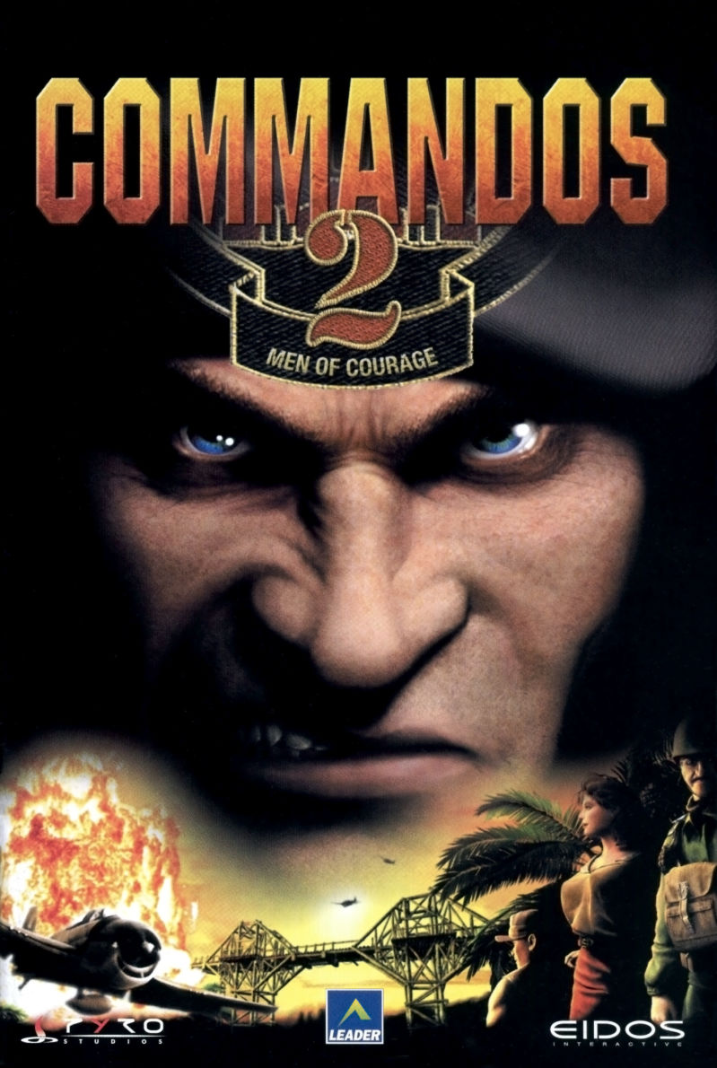 Commandos 2: Men of Courage Windows Manual Front