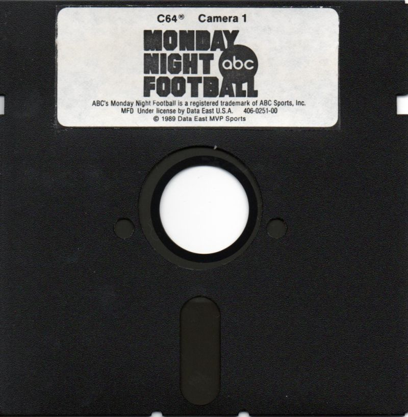 ABC Monday Night Football Commodore 64 Media