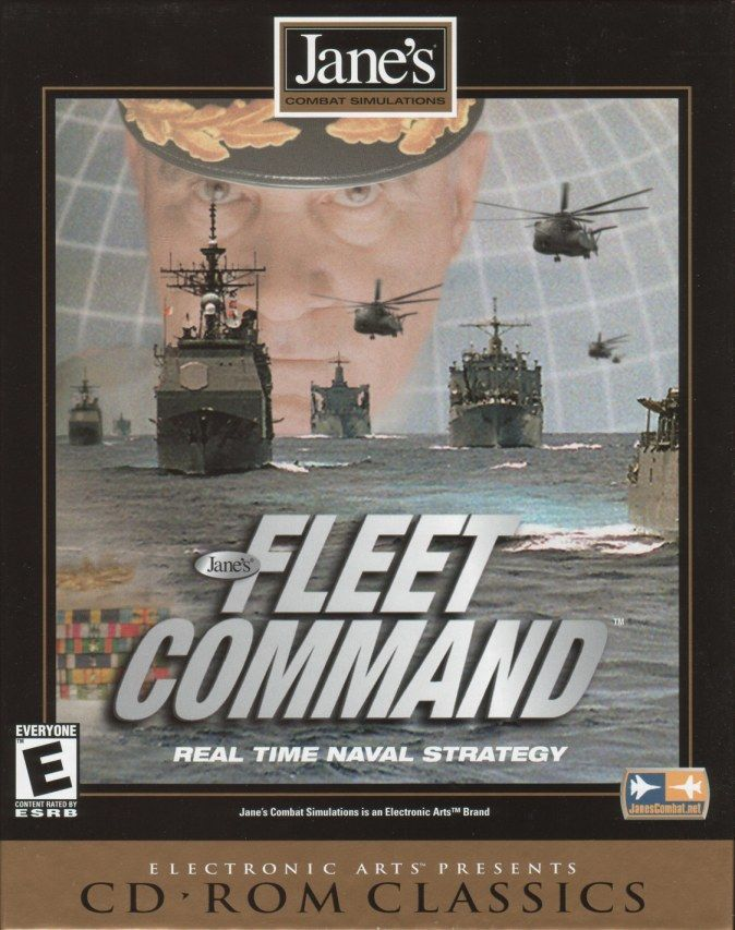 Jane's Combat Simulations: Fleet Command Windows Front Cover
