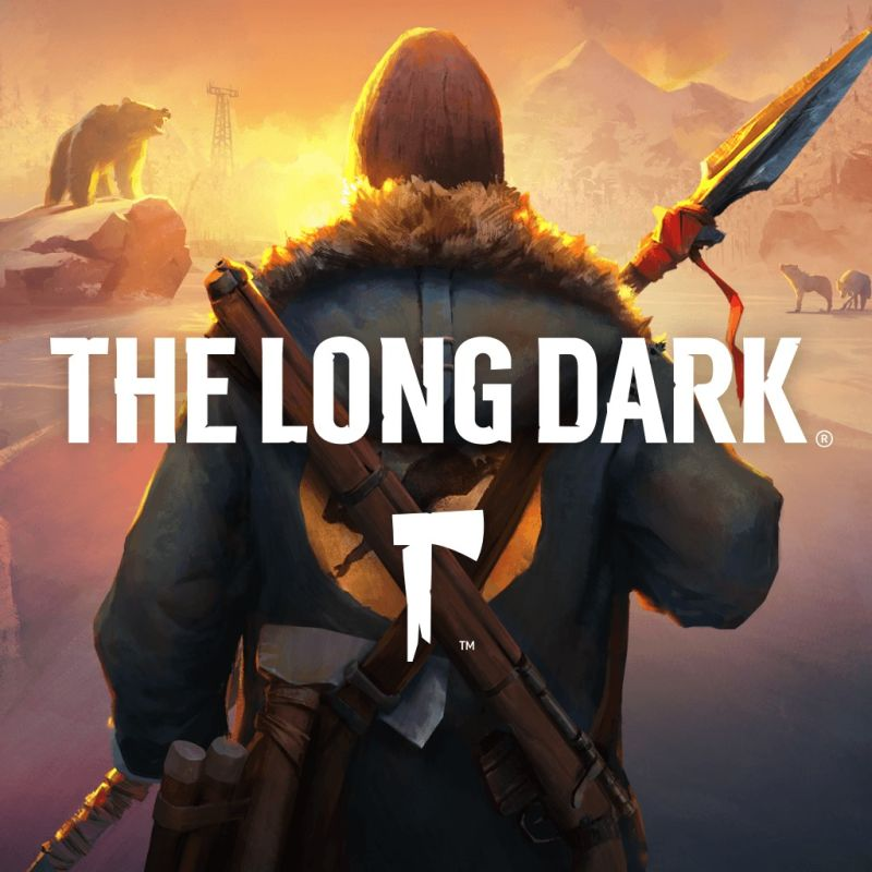 The Long Dark PlayStation 4 Front Cover 2nd version