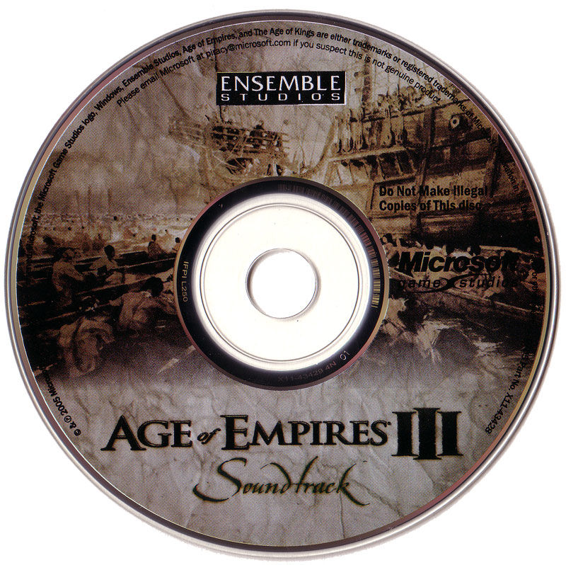 Age of Empires III (Collector's Edition) Windows Media Soundtrack CD