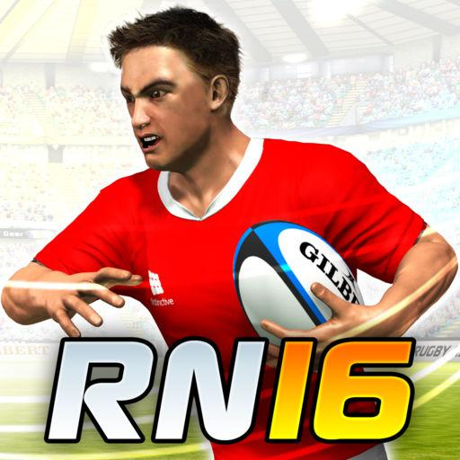 Rugby Nations 16 iPad Front Cover